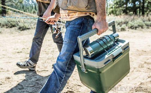 史丹利便携保温箱:加厚泡沫持久保温,PP材质安全放心