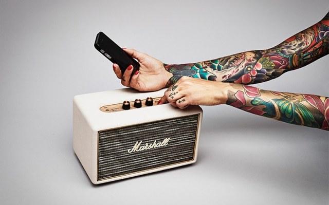 马歇尔无线蓝牙音箱