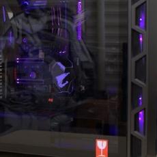 这回能用很多年,难得舍得弄一个H500 RGB机箱