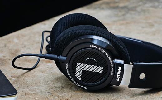 飞利浦SHP9500耳机:HIFI重低音,50mm低阻纯正原声