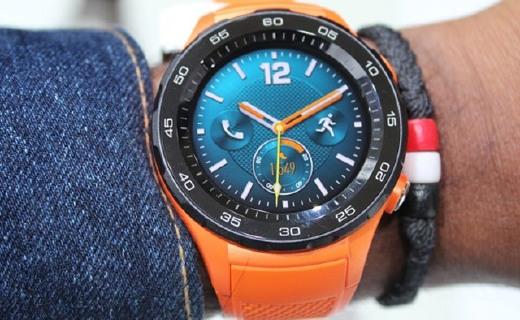 华为watch 2智能手表:运动心率都记录,圆形表盘颜值高