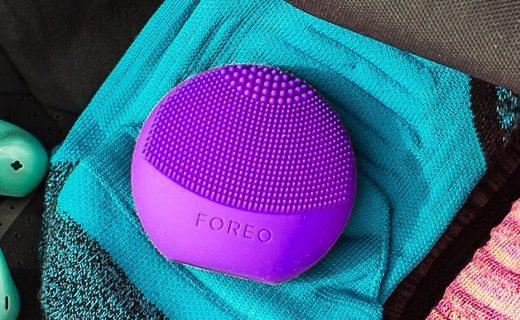 斐珞尔便携式洁面仪:体积小巧便携,垂直声波舒缓清洁面部