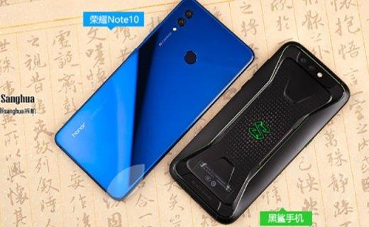 戳穿游戏手机伪命题,荣耀Note10拆机正面刚黑鲨