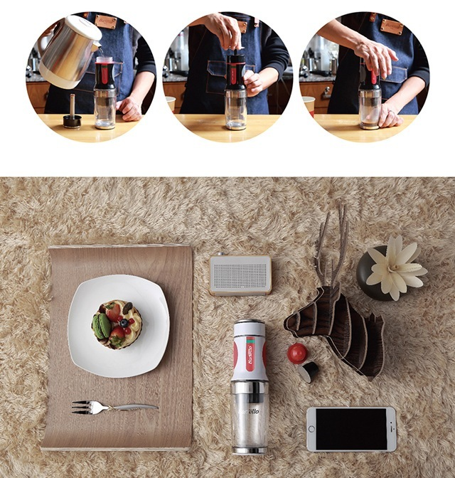 BarsettoTripressoBAH010N便携胶囊咖啡机