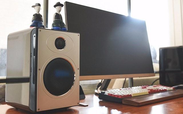 高保真音质+极简外观设计,低调实力派 — 惠威 H5MKII高保真有源音箱轻体验