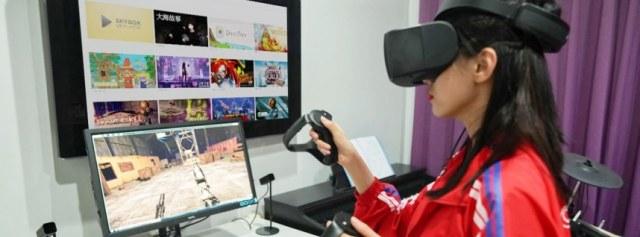高性价比炫酷VR头显,戴上秒变未来机械战警