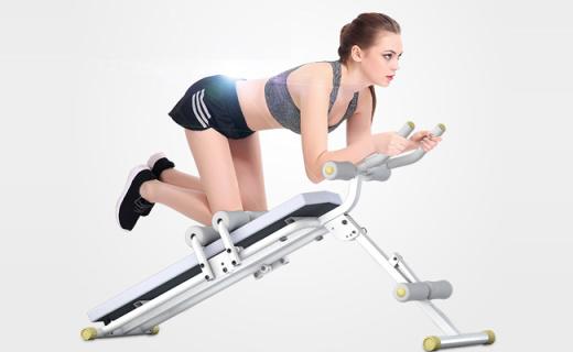 艾雷斯仰卧起坐板:双重瘦腰功能加倍,健腹瘦身新玩法