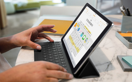 苹果iPad 9.7英寸平板电脑:A9处理器性能强劲,指纹支付快捷方便