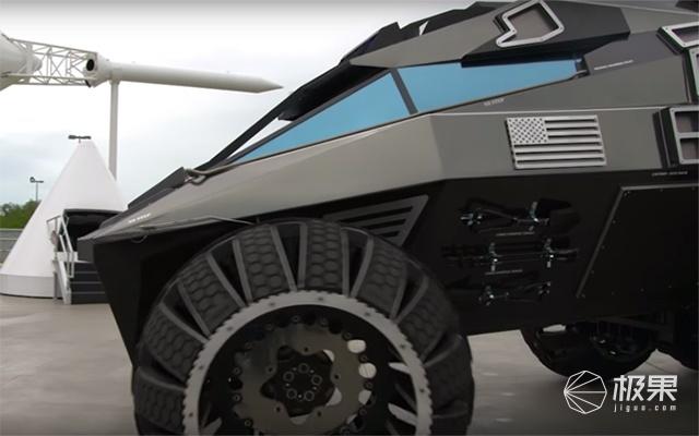 NASA给火星做的SUV,1.2米大轮胎移民火星就开它