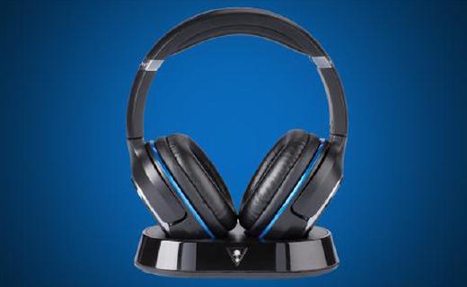 Turtle Beach Elite 800游戏耳机:DTS7.1环绕立体声,10小时续航