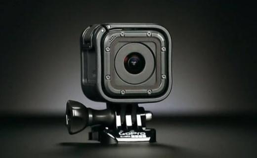 GoPro HERO Session 运动摄像机:4K60帧高清拍摄,裸机10米防水