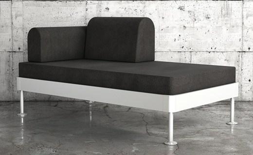 Delaktig 沙发床:极简生活,舒适耐用