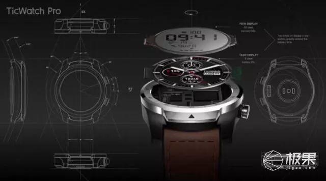 出门问问TicWatchPro4G版智能运动手表