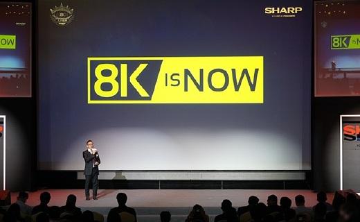 """夏普发全球首款8K电视,""""裸眼3D""""毛孔都能看清"""