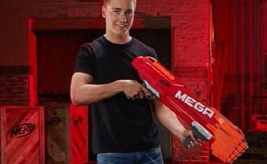 孩之宝双龙发射器:橡胶弹头安全放心,举起武器化身孩子王