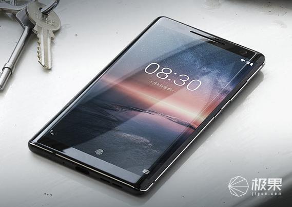 诺基亚(Nokia)8Sirocco黑色单卡手机