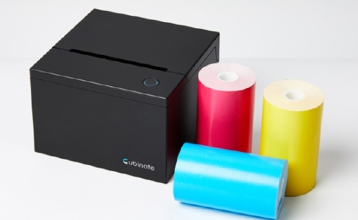 """做一個精致的""""便利貼""""人兒,不如了解一下Cubinote打印機"""