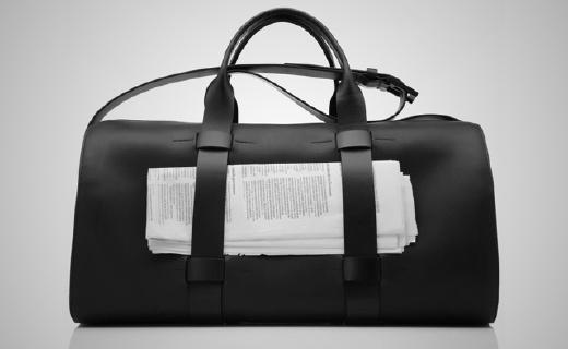纯手工制造的户外旅行包,设计贴心颜值超高