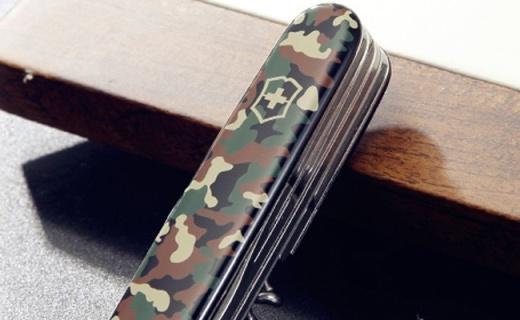 Victorinox瑞士军刀:迷彩刀身颜值高,十几种用途超强悍