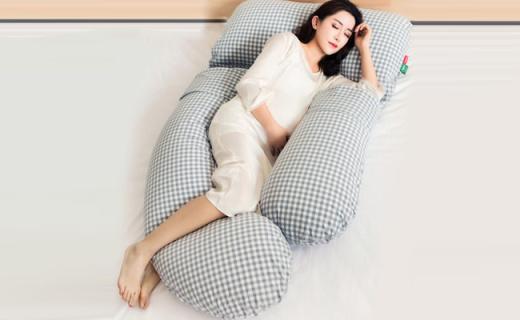 小西米木护腰侧睡枕:舒缓支撑多功能,优质材质使用安心