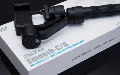 手机视频稳拍利器——智云Z1-Smooth C三轴稳定器