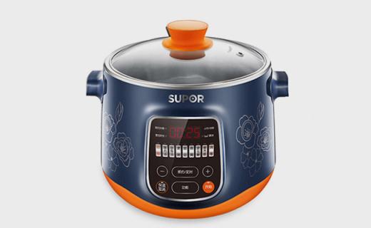 苏泊尔DZ22YC816电炖锅:多火力调节,食用级不锈钢内胆