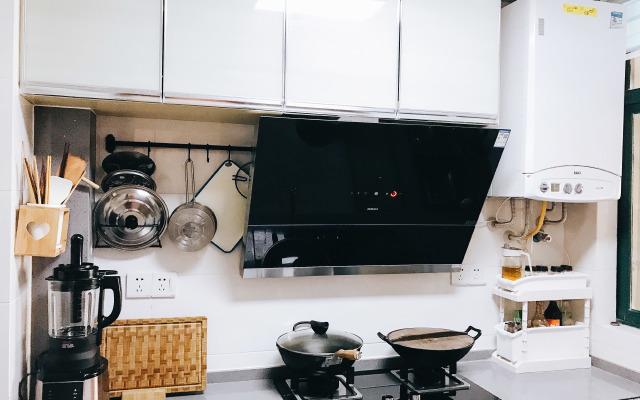超大吸力还带感应!这台油烟机让厨房颜值爆表