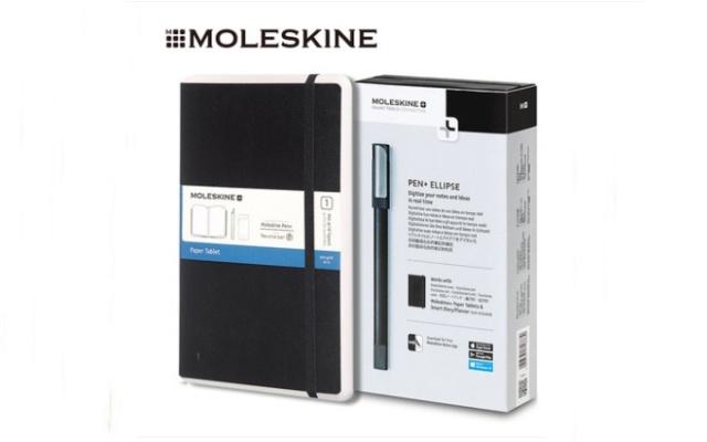 Moleskine新款Pen+Ellipse智能书写套装