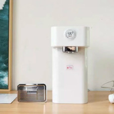 桌面办公新神器,冲奶机、咖啡机它都行:西屋即热式饮水机