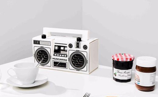 Musicanvas  Originals音箱:复刻80年代收音机,8小时连续嗨