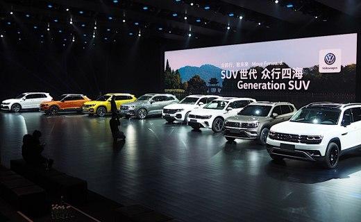 途锐又来了!大众四款全新SUV国内首发,高中低端全占,国产快没活路了…