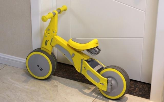 骑行滑步二合一,宝贝有这变形儿童车就够了 — 柒小佰变形儿童车体验