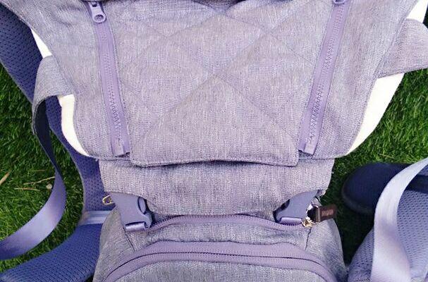 抱抱熊ax可折叠腰凳透气舒适,助你带娃更轻松