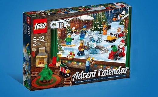 乐高City城市系列积木:圣诞节限定款,内涵24种不同造型小人