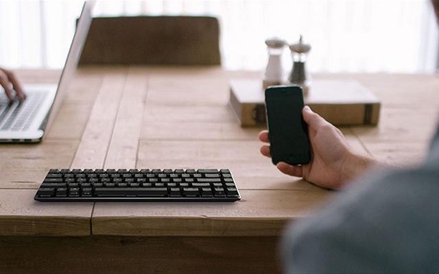 达尔优EK820 超薄机械键盘