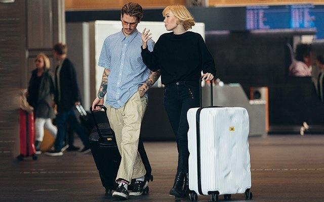 Crash Baggage STRIPE系列行李箱