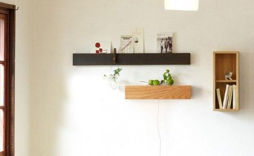 极有家创意壁灯:拉线开关方便操作,无痕钉固定摘取快捷