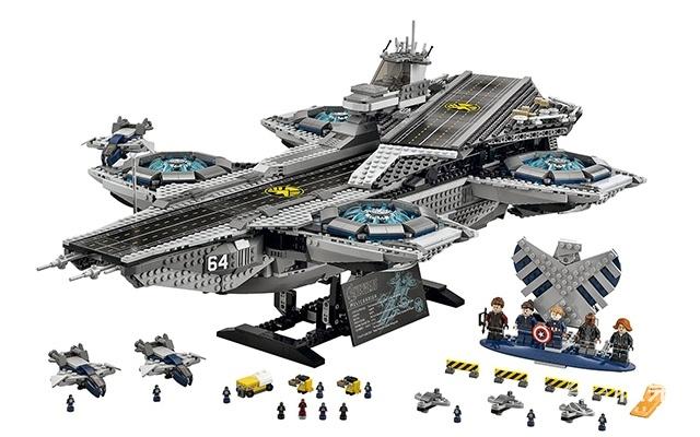 乐高(LEGO)漫威超级英雄系列76042神盾局天空航母