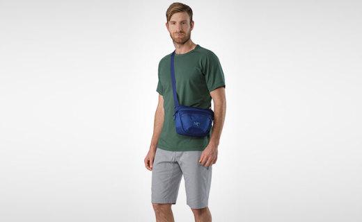 始祖鸟腰包:舒适耐磨好携带,灵巧收纳实用性强