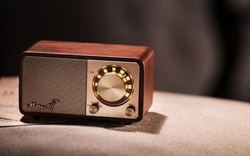 复古颜值有味道,是音响更是一件家居艺术品 — 山进 莫扎特无线蓝牙音箱体验   视频