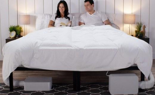 可以调节床温的床上用品,从此不再只有电热毯