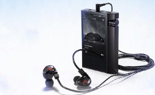 艾利和AK Jr hifi播放器:外形时尚防滑,全触摸屏海量内存