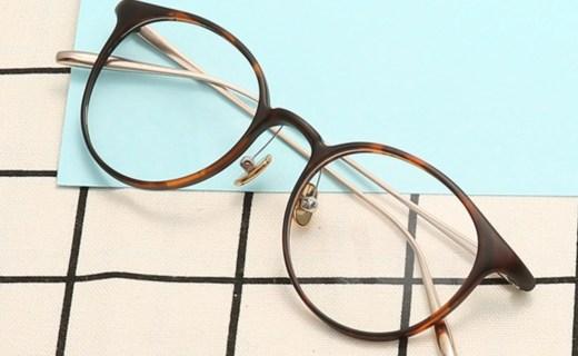 汉 光学眼镜架:复古圆框设计,光学镜架佩戴舒适
