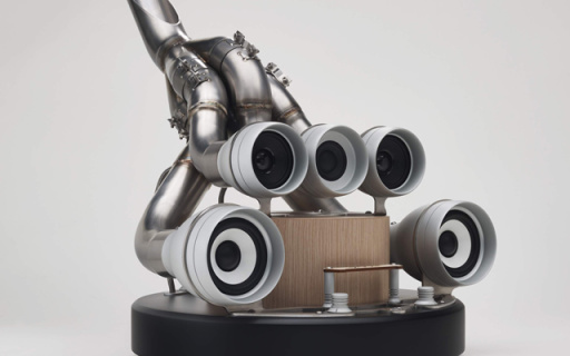 F1跑车排气筒音响,外形酷炫还有环绕音效
