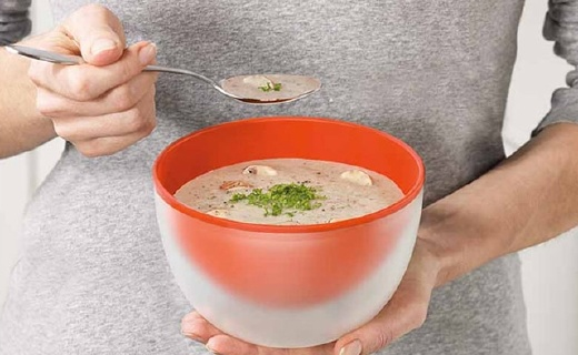 微波炉加热专用碗,双层隔热拿取不烫手