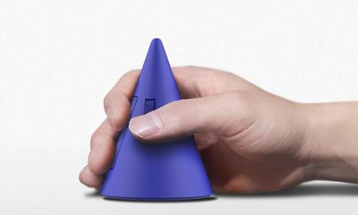 又一款奇葩设计,锥形鼠标问世!