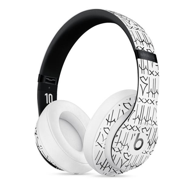苹果上线新款BeatsStudio3无线耳机:涂鸦风格致敬内马尔