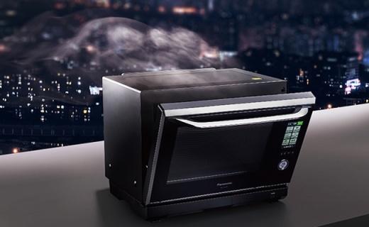 把水变成油的松下黑科技烤箱,煎烤蒸炸全能!