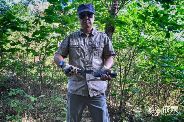 汉道洛克户外直刀评测,定位于户外使用的生存刀具