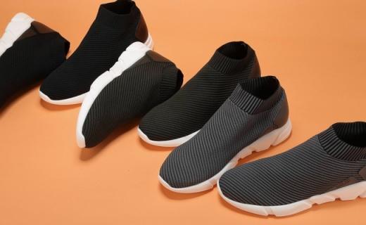 Master Plan休闲鞋:一体鞋身设计,柔软织物贴合度好